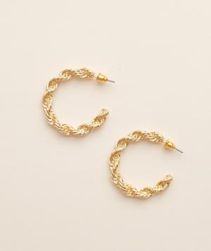Earrings `Rougecoco` Aurora big