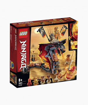 Lego Ninjago Կառուցողական Խաղ «Հրե Դաշույն»