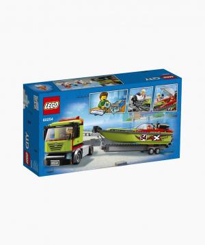 Lego City Կառուցողական Խաղ «Արագընթաց նավերի քարշակ»