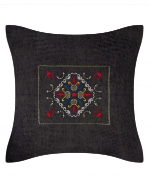 """Pillow """"Miskaryan heritage"""" embroidered with Armenian ornament №31"""