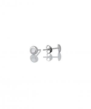 Արծաթյա ականջօղեր SE252W
