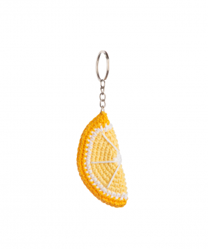 "Pendant ""Crafts by Ro"" lemon №3"