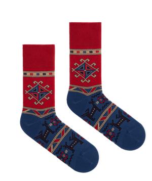 """Socks """"Flying Feet"""" Deer"""