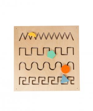 "Toy ""Bzbzik"" didactic maze"