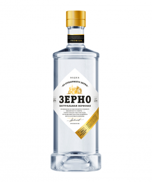 Vodka `Зерно` 1l