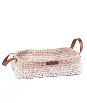 """Basket """"Ro Handmade"""" handmade, cotton №4"""