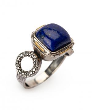 Մատանի «Har Jewelry» արծաթյա լազուր