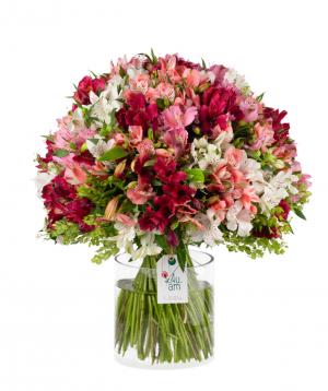 Bouquet `Pensacola ` with alstroemerias