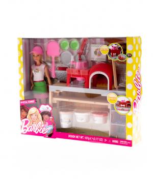 "Set ""Barbie"" pizza chef"