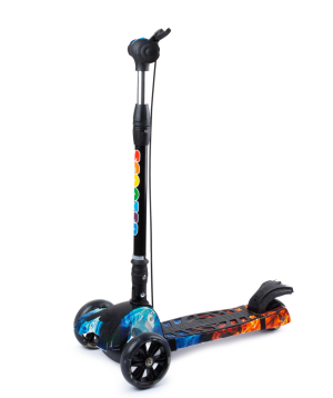Scooter PE-15087 with light effect and handbrake