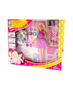 Բարբի «Barbie» Pink Cocktail Dress