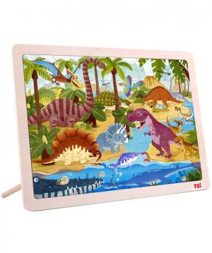 Փազլ «Toi» դինոզավրեր