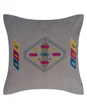 """Pillow """"Miskaryan heritage"""" embroidered with Armenian ornament №37"""