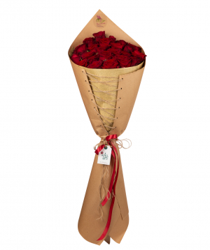 Bouquet `Modena` with roses