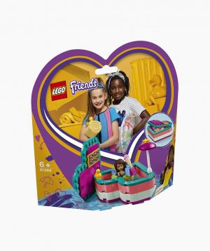 Lego Friends Կառուցողական Խաղ Անդրեայի Ամառային Սիրտ Արկղիկը