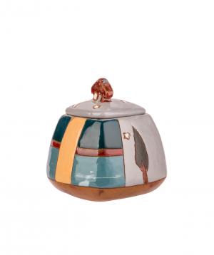 """Sugar bowl """"Nuard Ceramics"""" City №1"""