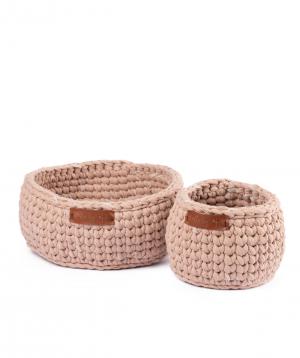 "Collection ""Ro Handmade"" of handmade cotton baskets №2"