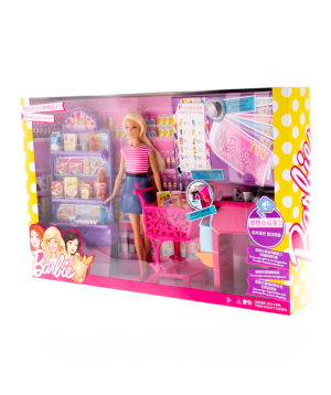 Բարբի «Barbie» Supermarket Playset