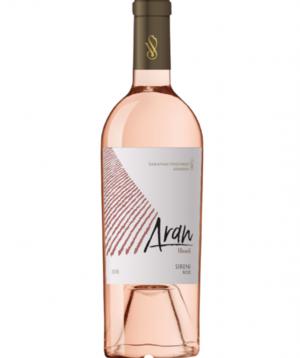 Wine `Aran` pink dry 750 ml