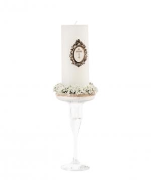Candle `Edit Sweet` baptism