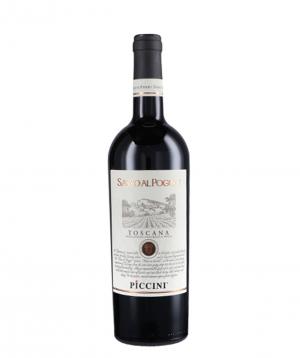 Wine `Piccini Toscana Sasso Al Poggio` red, dry 750ml
