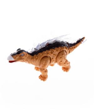 Toy dinosaur, walking