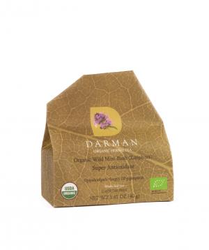 "Tea ""Darman organic herbal tea"" organic, Ziziphora"