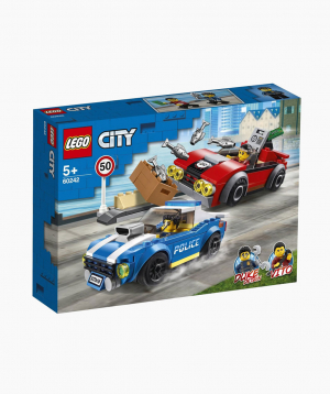 Lego City Կառուցողական Խաղ «Ձերբակալություն՝ խճուղու վրա»