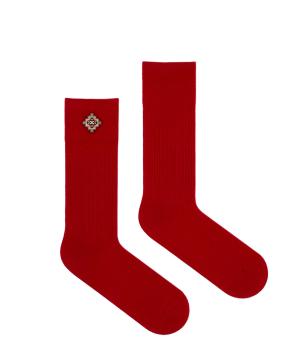 """Socks """"Flying Feet"""" Artsakh red"""