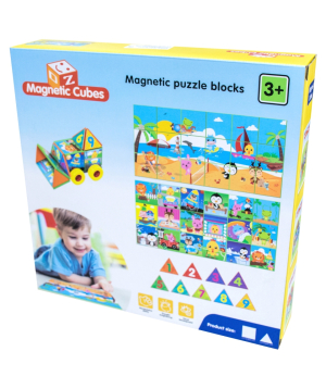 Puzzle magnetic №2