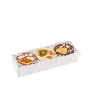 Շոկոլադ «Saryaneats» չորամրգերով և ընդեղենով, տուփով №1