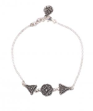 Bracelet `DF Project` silver №7