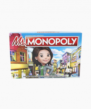 Hasbro Board Game Ms. Monopoly