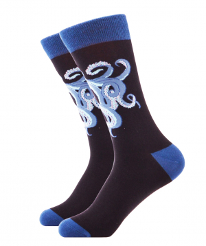 Socks `Zeal Socks` octopus blue