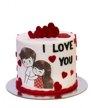 Cake `I love you`