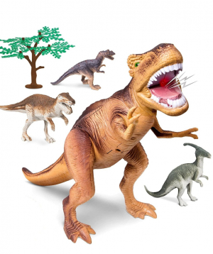 Collection  `DISCOVERY` of dinosaurs