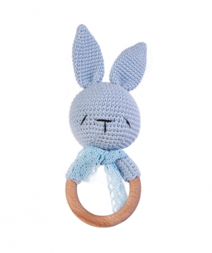 """Rattle """"Crafts by Ro"""" bunny №4"""