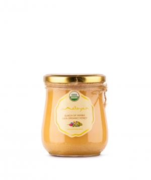 Honey `Meloyan Organic Honey` organic, bunch of herbs big