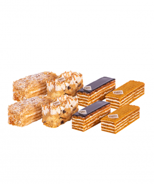 Collection `Parma` Pastry  8 pieces