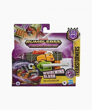 Hasbro Transformers Hero Figurine CYBERVERSE 1 STEP BLUDGEN