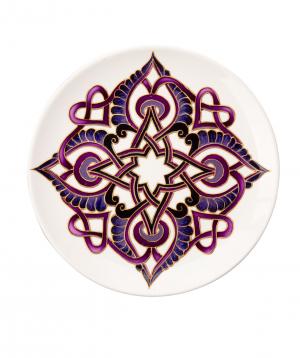 "Plate ""Taraz Art"" decorative, ceramic №7"