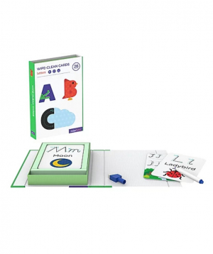 """Collection """"MierEdu"""" of training cards with letters"""