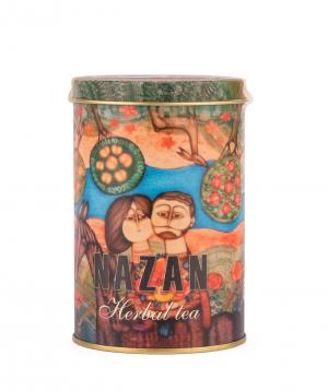 "Tea ""Nazan"" with mint, rosehip and prunes"