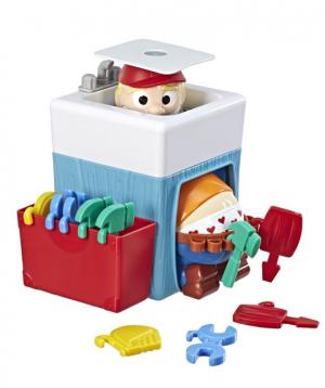 Toy `Hasbro` plumber pants, plastic