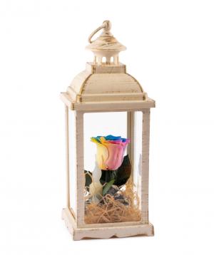 Rose `EM Flowers` eternal lampshade 33 cm