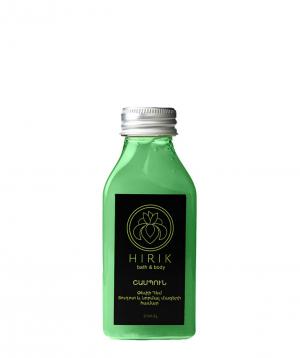 Shampoo `Hirik Cosmetics` with extracts of hemp and chamomile 250 ml