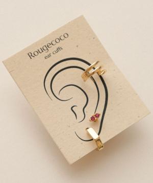 "Earrings ""Rougecoco"" Positano Set"