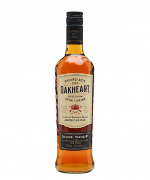Rum `Bacardi Oakheart` 700 ml