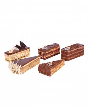 Collection `Parma` Pastry  5 pieces