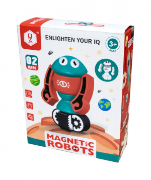 Constructor robots, magnetic